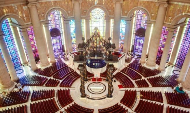 Basilique Notre-Dame de la Paix de Yamoussoukro Interieur