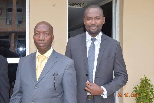 Dr Toua-Bi et Dr Franck Ndjomon