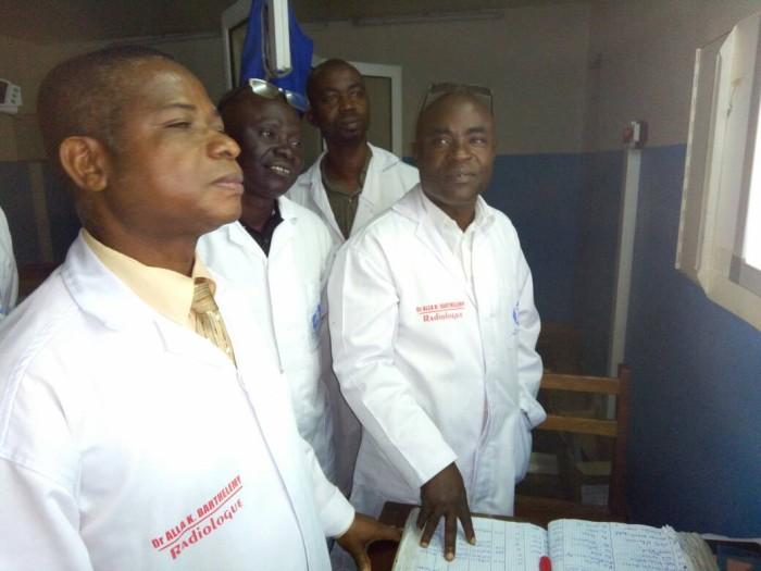 Participants à la formation en mammographie